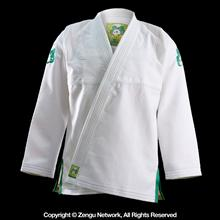Inverted Gear Gold Weave Panda White BJJ Gi